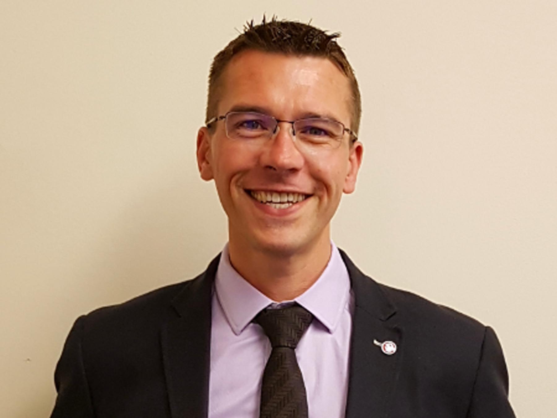 Michael Grimley Managing Director of GSAe